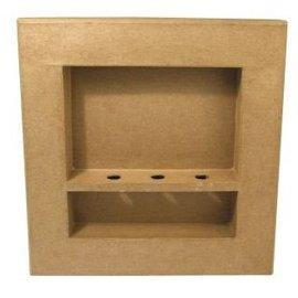 Objekten zum Dekorieren / objects for decorating 3D-frame, vierkant, 30x30x4 cm