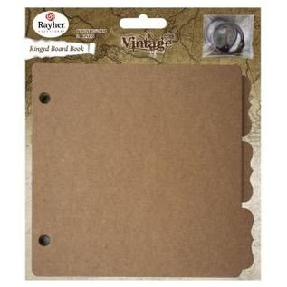Objekten zum Dekorieren / objects for decorating 1 Vintage Ring Binder, 16,1x15,2cm