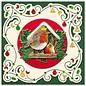 Vorgedruckte Bilder und geprägte Sticker, für 8 3D Weihnachtskarten