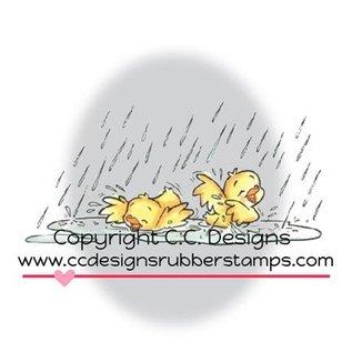 C.C.Designs rubber stamp