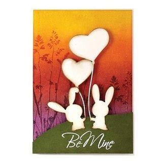 Penny Black Stanz- und Prägeschablonen, Bunny Love