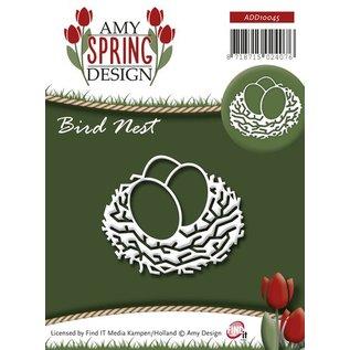 AMY DESIGN Stampaggio e goffratura stencil, nido d'uccello