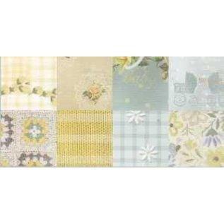 DESIGNER BLÖCKE / DESIGNER PAPER Jolis papiers, A5, pépinière romantique, 4x 8 motifs