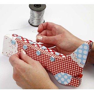 Objekten zum Dekorieren / objects for decorating Craft Kit: 1 set of materials for retro boots box