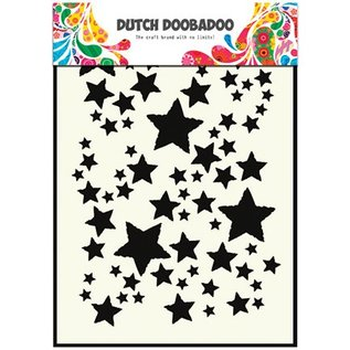 Dutch DooBaDoo Pronty, hollandsk Masketype, A5, stjerner