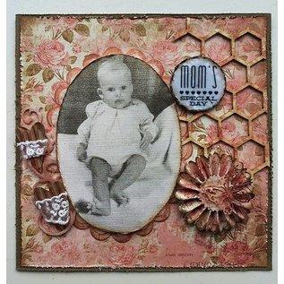 Pronty Hollandsk Soft Board - Honeycomb A5