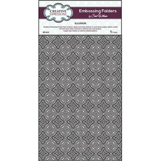 CREATIVE EXPRESSIONS und COUTURE CREATIONS A4 Embossing Folder, 200x295mm