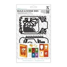 Docrafts / X-Cut Corte e molde de estampagem para uma caixa de sombra Cartão