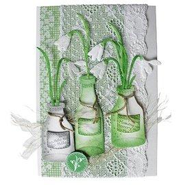 Joy!Crafts / Hobby Solutions Dies Joy Crafts, bloemen 3pcs / 44x79 / 40x69 / 49x93mm
