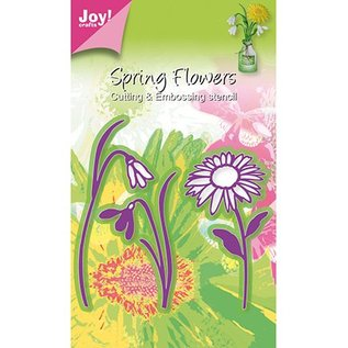 Joy!Crafts / Jeanine´s Art, Hobby Solutions Dies /  Joy Crafts, blomster 3stk / 44x79 / 40x69 / 49x93mm
