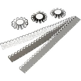 Komplett Sets / Kits Kit Craft: ensemble matériel pour 6 pièces rosettes, D: 8 cm, 160 g - Copier