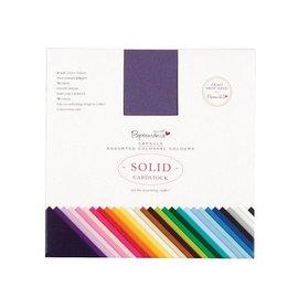DESIGNER BLÖCKE / DESIGNER PAPER Papier pad, 15 x 15cm, 75 vel, 75 kleuren!