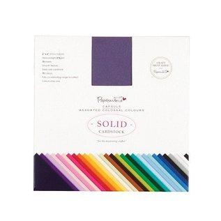 DESIGNER BLÖCKE / DESIGNER PAPER Paper pad, 15 x 15cm, premium karton 216gsm, 75 ark, 75 farver!