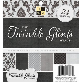 DCWV und Sugar Plum DCWV Designerblock, Twinkle Glints Stack