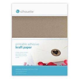 Silhouette NEW aqui no SHOP: papel kraft impressão para Silhouette Cameo