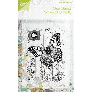 "Joy!Crafts / Hobby Solutions Dies Joy Crafts, Clear stamps, ""Gamle brev Butterfly"", 85 x 120mm"