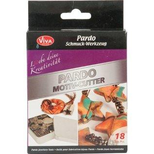 Snijden - Pardo motief-cutter, 18 motief