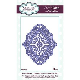 CREATIVE EXPRESSIONS und COUTURE CREATIONS NEW punch - and embossing template