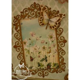 Joy!Crafts / Hobby Solutions Dies BASTELTIPP: punching and pre - template, top frame and 3 corners