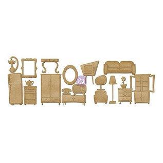 Embellishments / Verzierungen Panneaux de particules meubles