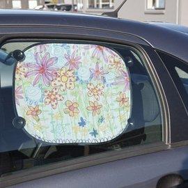 Kinder Bastelsets / Kids Craft Kits Å dekorere lett å male med Stoffmalstift, - 2 solskjerm for bilen