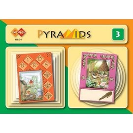 Bücher und CD / Magazines 3D boekje Piramidi