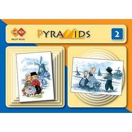 Bücher und CD / Magazines 3D boekje Pyramids, Delfter