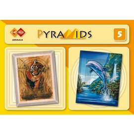 Bücher und CD / Magazines 3D boekje Piramidi, Animali
