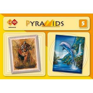 Bücher und CD / Magazines 3D boekje pyramider, Dyr