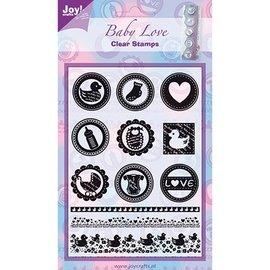 Joy!Crafts / Jeanine´s Art, Hobby Solutions Dies /  sello transparente: Bebé