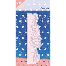 Joy!Crafts / Hobby Solutions Dies Skæring og prægning stencil, gave emballage