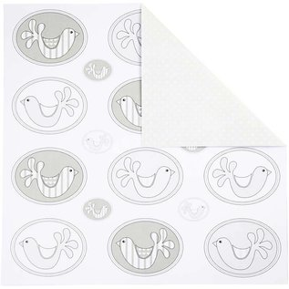 DESIGNER BLÖCKE / DESIGNER PAPER Design paper, 30,5 x30, 5 cm, 5 sheets