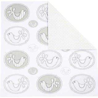 DESIGNER BLÖCKE / DESIGNER PAPER Le papier de design, 30,5 x30, 5 cm, 5 feuilles