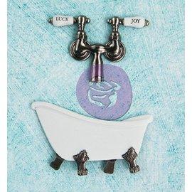 Prima Marketing und Petaloo Metall - Antique Badewanne