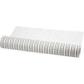 FILZ / FELT / FEUTRE Progettazione feltro, W: 45 cm, bianco e grigio, 1 m
