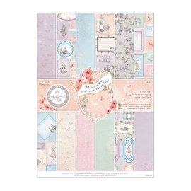 Karten und Scrapbooking Papier, Papier blöcke Designerblok med delstanset ark