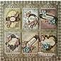 Spellbinders und Rayher Metalen sjabloon Shapeabilities, omlijst Fancy Tags 3, 4 x 1-10,9 x 3,1 cm, 6 stuks