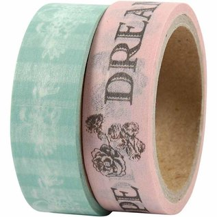 DEKOBAND / RIBBONS / RUBANS ... Self Washitape / papir tape