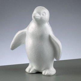 Objekten zum Dekorieren / objects for decorating 1 piepschuim vorm, Penguin staande, 180 mm