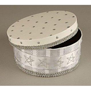 Objekten zum Dekorieren / objects for decorating Pappschachtel-Set, rund