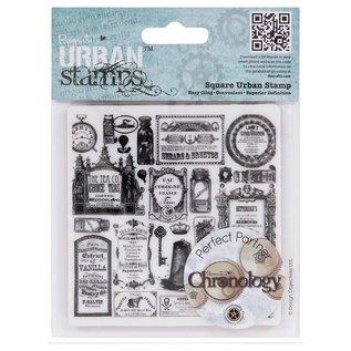 STEMPEL / STAMP: GUMMI / RUBBER Stempel Cling Mounted Stamp Chronology Apotheker