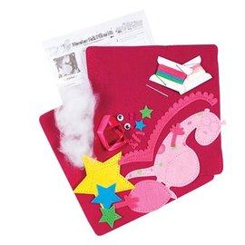 Kinder Bastelsets / Kids Craft Kits Craft Kit: for utforming av barne følte pad med monster