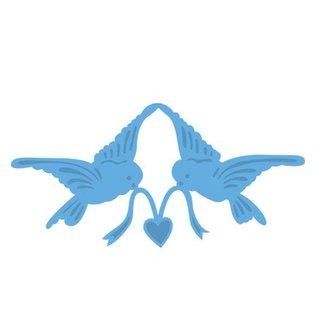 Marianne Design Coupe et le gaufrage pochoir, l'amour