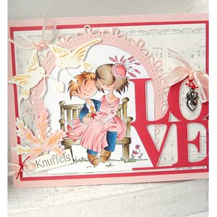 Marianne Design Cutting and embossing stencil, love