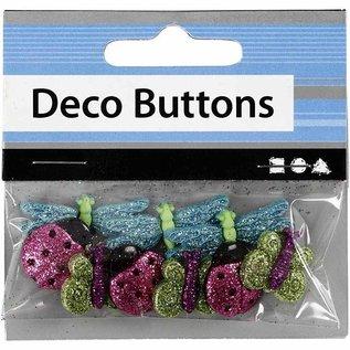 Embellishments / Verzierungen Boutons en plastique en relief