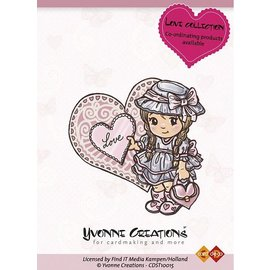 Yvonne Creations Rubber stamp,