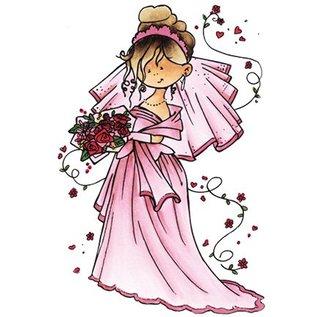 Marianne Design Snoesje - Her kommer bruden, 10,5 x 18cm