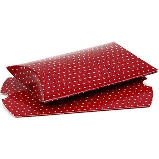 Dekoration Schachtel Gestalten / Boxe ... Aus kräftigem Karton (300 g), mit Verschlusslaschen an beiden Enden
