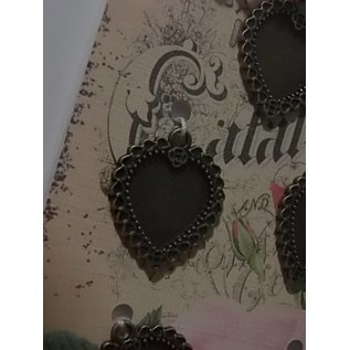 Embellishments / Verzierungen Metalen frame - 5 stuks