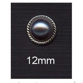 Embellishments / Verzierungen 10 Perlmut dykkere, 12mm